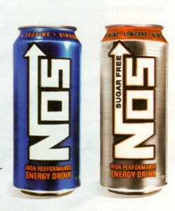 NOS Energy Drink is an energy drink sometimes distributed in a bottle ...